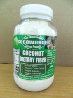 Coconut dietary fiber